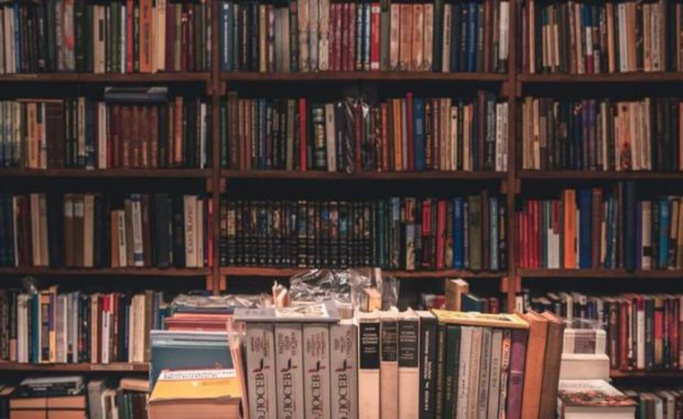 Fiction Book Shelves
