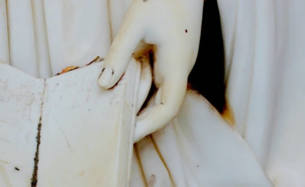 Greek Mythology Books Statue